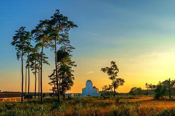 Radio Kootwijk zonsondergang van