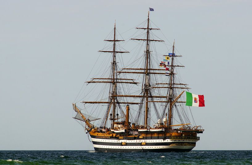 Vollschiff Amerigo Vespucci von Ingo Rasch