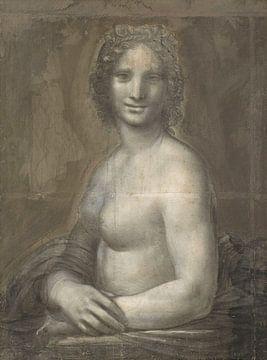 De naakte Mona Lisa, Leonardo da Vinci