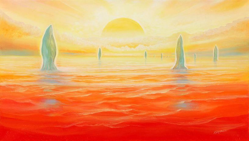Meeres-Türme van Silvian Sternhagel
