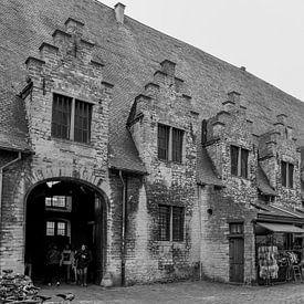 Groot Vleeshuis, Gent België van Ingrid Aanen