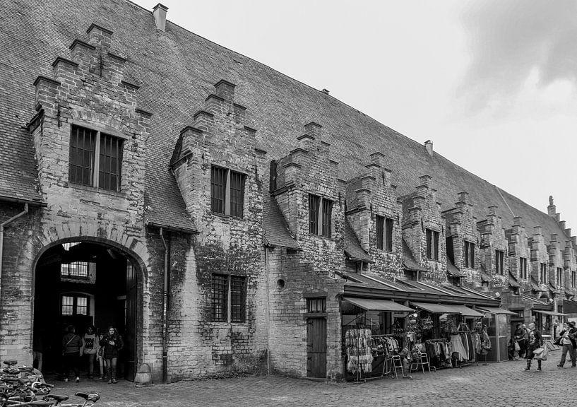 Großes Fleischhaus, Gent Belgien von Ingrid Aanen