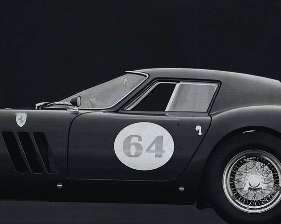 Ferrari 250 GTO 1964 B&W