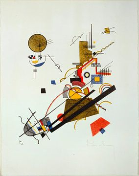 Fröhlicher Aufstieg, Wassily Kandinsky