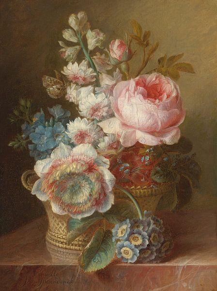 Stillleben mit Blumen, Cornelis van Spaendonck von Meesterlijcke Meesters