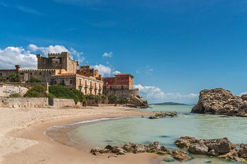 Castello di Falconara, Sicily van Gunter Kirsch