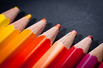 Kleurpotloden van Victor van Dijk