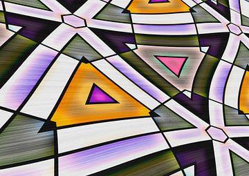 Abstrakt Triangle van Rosi Lorz