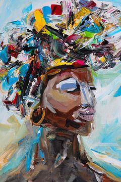 ~ African woman ~ von Klaske de Wal