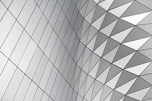 Patroon abstracte geometrische vormen