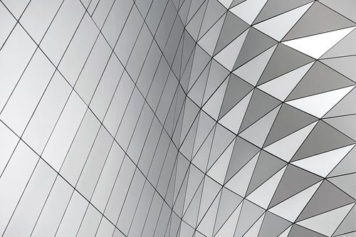 Patroon abstracte geometrische vormen sur Johan V