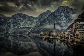 Hallstatt Oostenrijk van Mario Calma