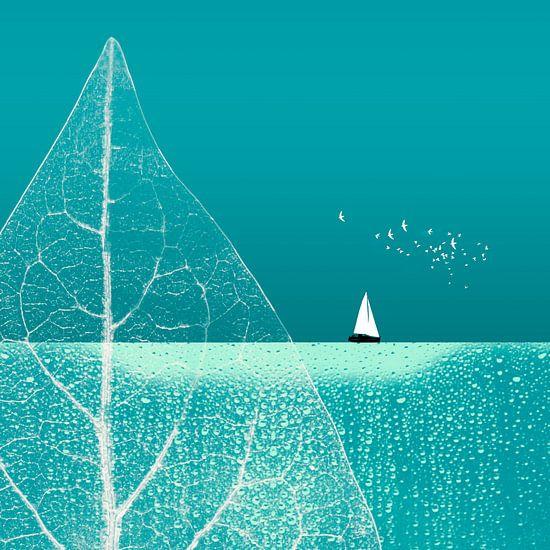 Ocean Wonderland II-B von Pia Schneider