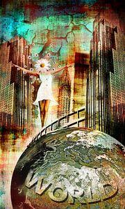 On top of the world van MirEll digital art