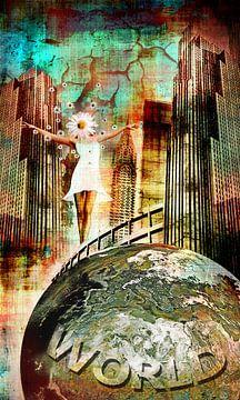 Auf dem Gipfel der Welt von MirEll digital art