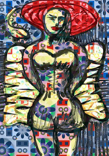 Verkleed als een engel van Eva van den Hamsvoort