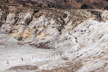Ausflug zum Stefanos-Krater von Sharon de Groot