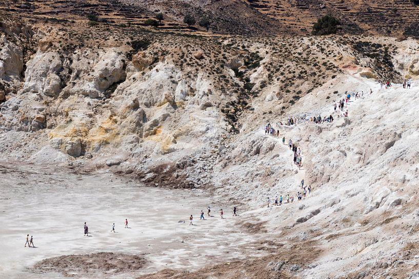 Tocht naar de Stefanos Krater van Sharon de Groot