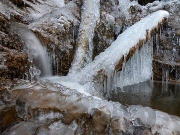 Eis am Oberauer Wasserfall