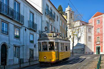 Lissabon Tram von Joachim G. Pinkawa