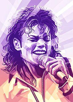 Michael Jackson van zQheert