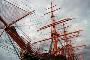 Schip tijdens Sail van