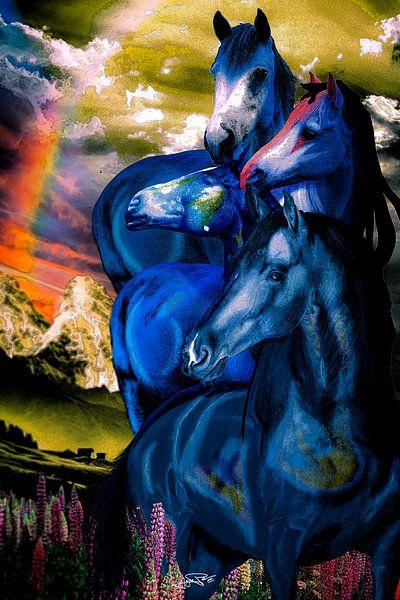 Turm der blauen Pferde von Ansgar Peter