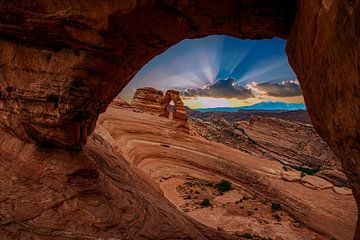 Arches National Park, Amerika van Gert Hilbink