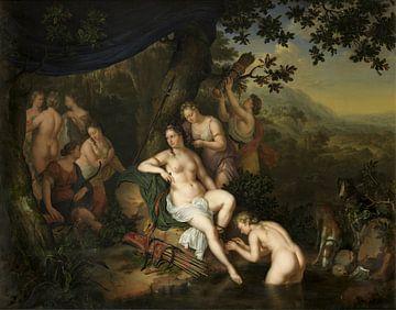 Diana und ihre Nymphen, Willem van Mieris