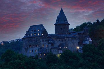 Burg Stahleck, Bacharach, Mittelrhein, Rheinland-Pfalz