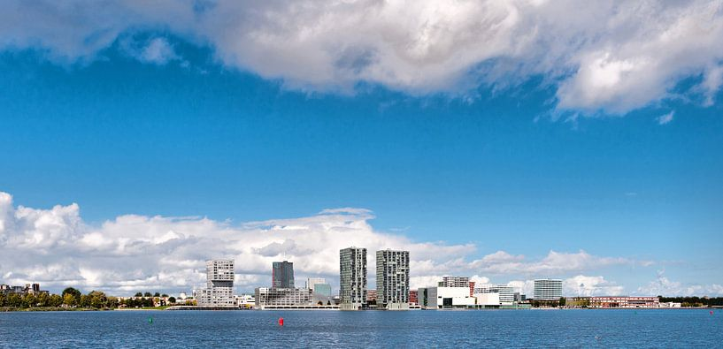 Almere Stad  Skyline van Brian Morgan