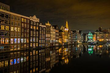 Amsterdam Damrak sur Henk Smit
