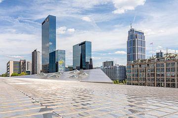 Vue du toit de Rotterdam CS sur Annette Roijaards