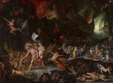 La descente du Christ dans les limbes, Jan Brueghel l'Ancien, Hans Rottenhammer sur
