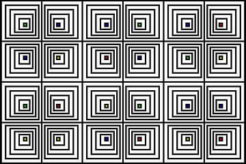 Genesteld | Offset | 06x04x2 | N=06 | V35 | RGBY van Gerhard Haberern