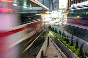 Hong Kong Bus van