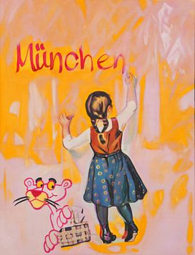 Münchner Kindl - Original Werk - von Altersheim von Felix von Altersheim