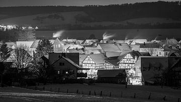 Winter Herleshausen van Roland Brack