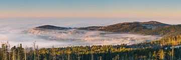 Oberfrauenwald über den Wolken von Berthold Ambros