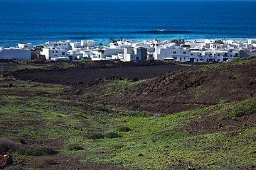 El Golfo auf Lanzarote von Anja B. Schäfer