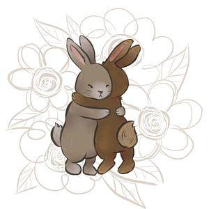 konijnen liefde van