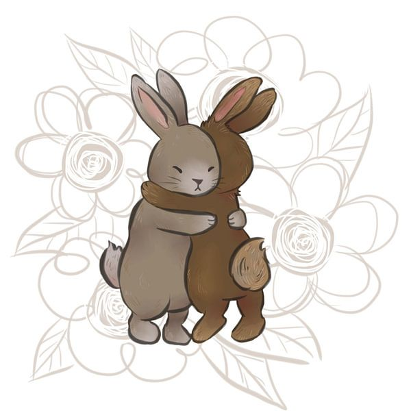 konijnen liefde van Wies de Ruiter