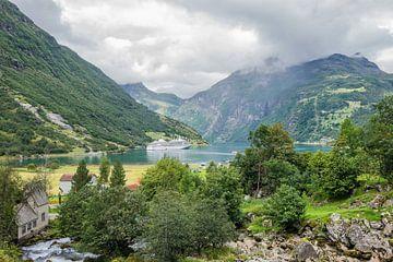 Blick auf den Geirangerfjord von Rico Ködder