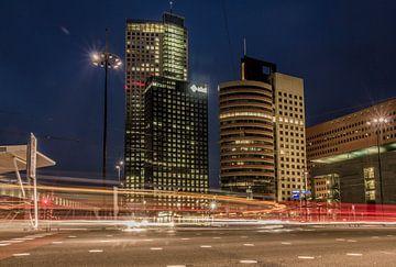 Wilhelminaplein Kop van Zuid Rotterdam van Peter Hooijmeijer