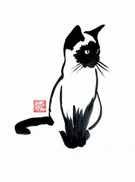 siamesische Katze von philippe imbert