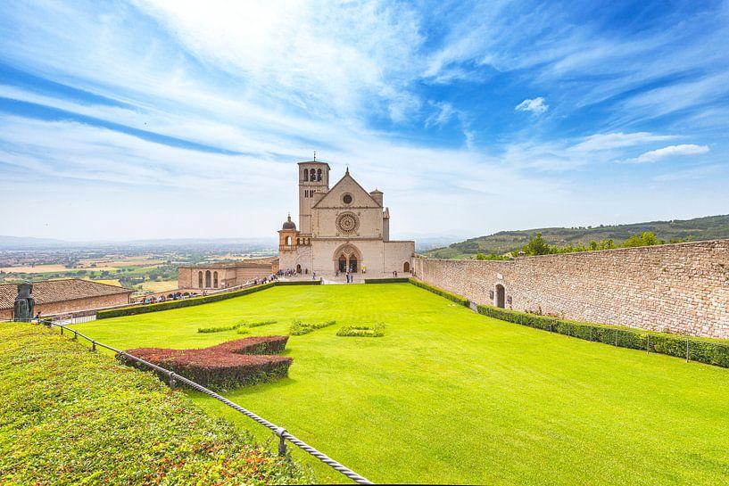 Sint-Franciscusbasiliek in Assisi, Italië van Jenco van Zalk