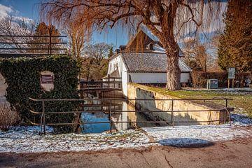 Wassermühle Schloss Schaloen von Rob Boon