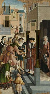 Die sieben Werke der Barmherzigkeit (Teil 2) Meister von Alkmaar