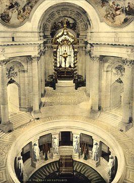 Napoleon's tomb, Paris van Vintage Afbeeldingen