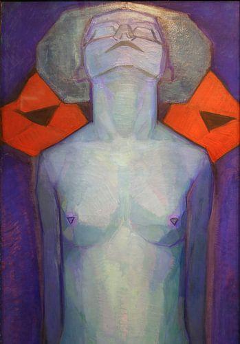 Piet Mondriaan. Evolutie van de mens van 1000 Schilderijen